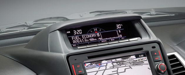 Dashboard Mitsubishi Pajero Sport 2014