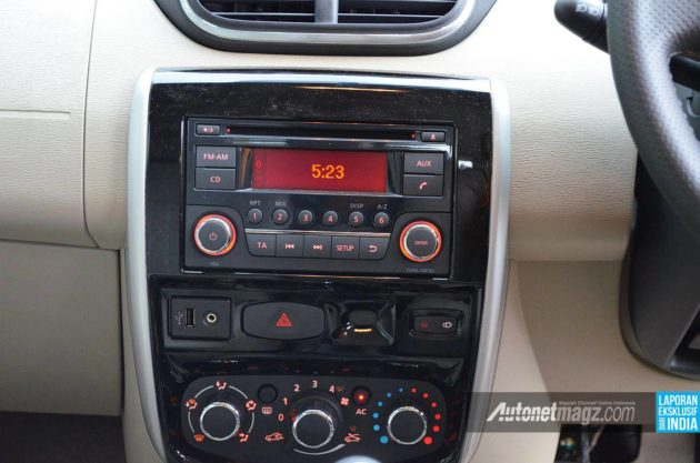 Head-unit All New Nissan Terrano 2013