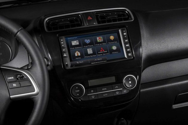 Head unit Mitsubishi Mirage 2014