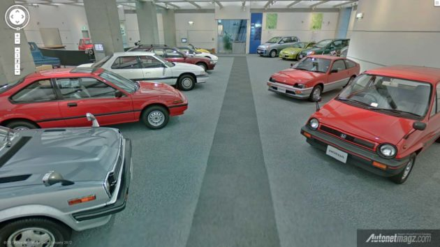 Honda Collection Hall Japan dilihat oleh Google Street View