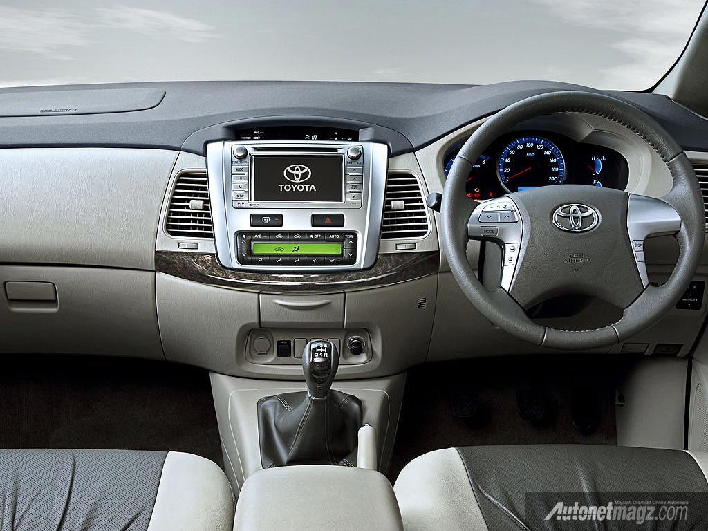 International, Interior Toyota New Innova India: New Kijang Innova