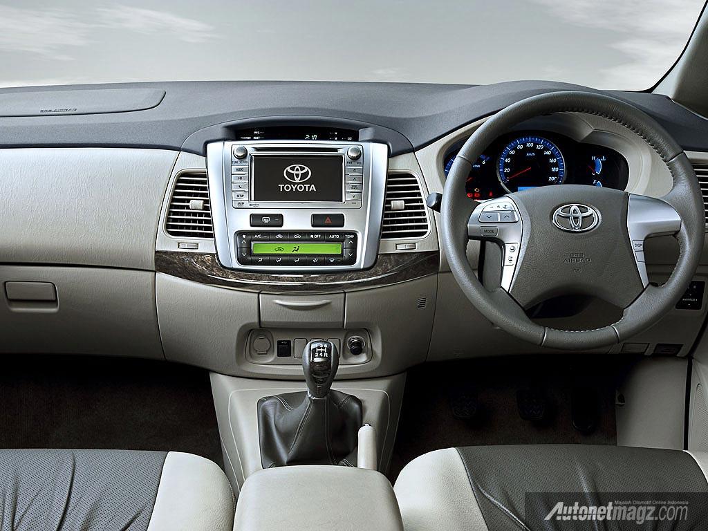 Interior toyota new innova india for New interior