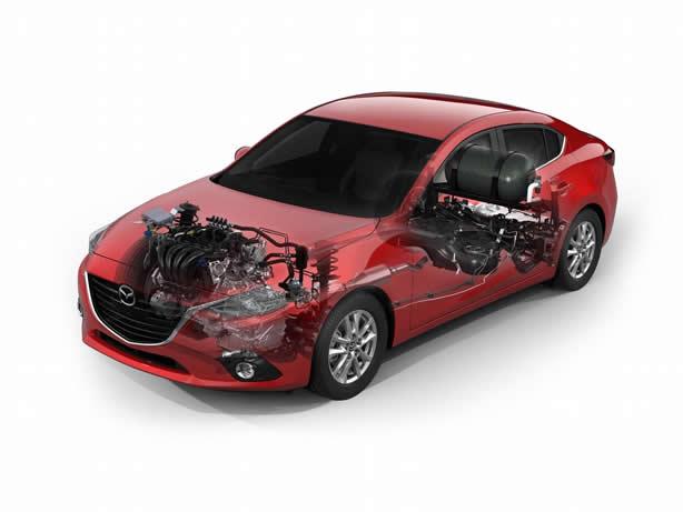 Mazda3 SKYACTIV CNG concept