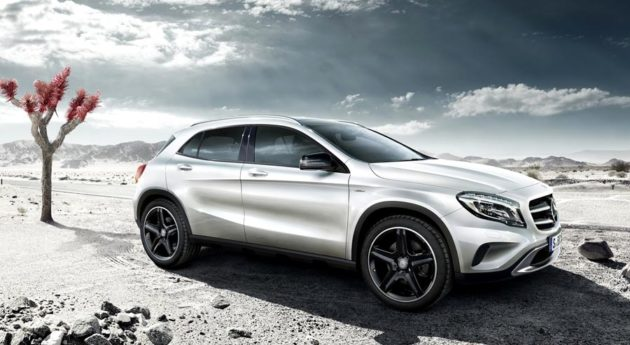 Mercedes Benz GLA indonesia