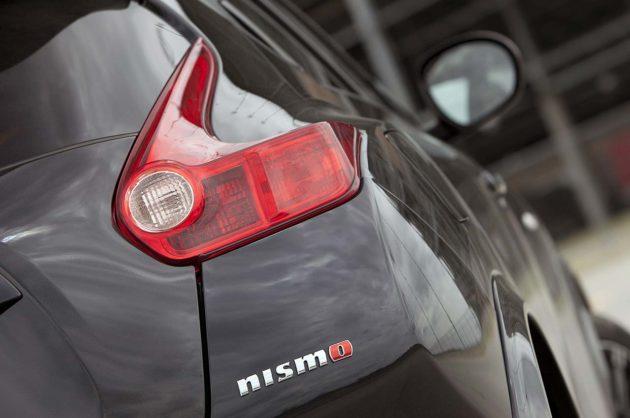 Nissan Juke Nismo 2013 emblem