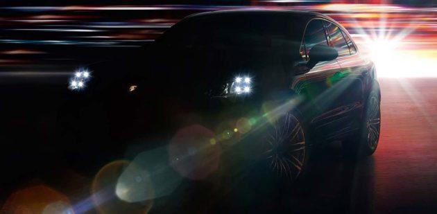 Porsche Macan teaser 2013
