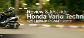 video review Honda Vario Techno 125 PGM-FI 2013