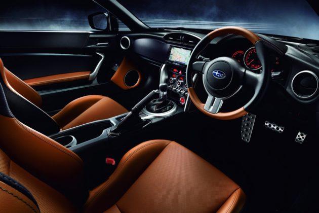 Subaru BRZ Premium Sports interior