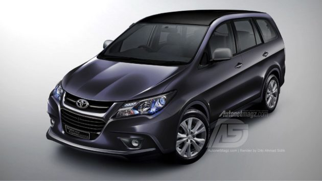Toyota Kijang Innova 2014 suggestion design