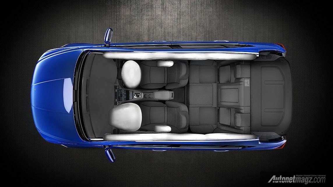 6 airbag pada Proton Suprima S