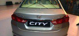 Kabin belakang All-new Honda City 2014 lebih luas