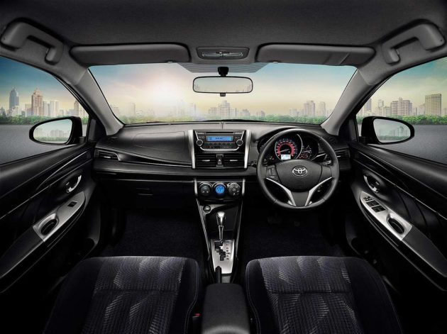 Interior New Toyota Yaris 2014 versi Asia