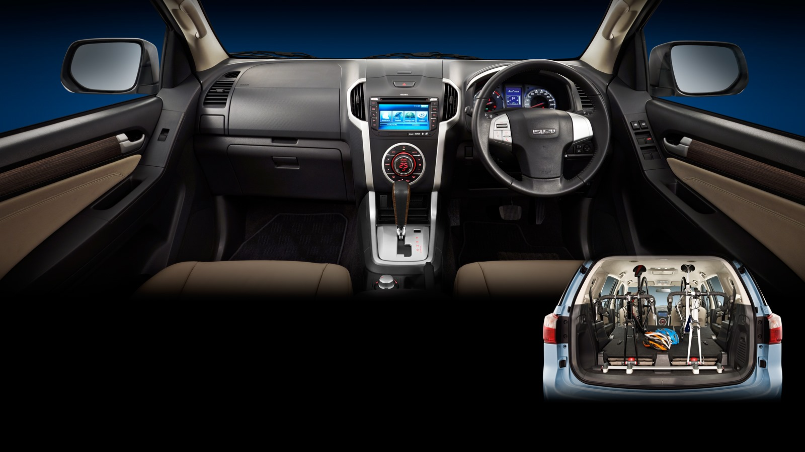 Isuzu Mu X Interior Autonetmagz Review Mobil Dan
