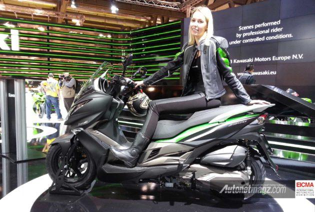 Kawasaki J300 di EICMA 2013