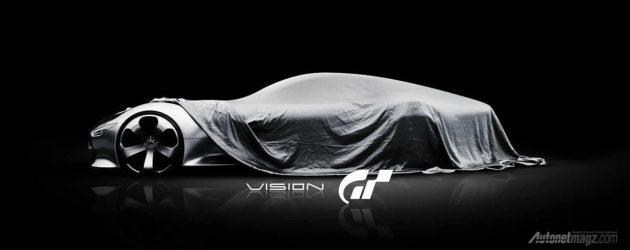 Mercedes-Benz AMG Vision Gran Turismo Concept spesial untuk game balap Gran Turismo