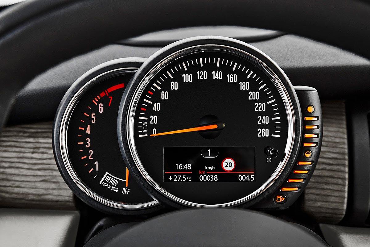 Speedometer Mini Cooper 2015