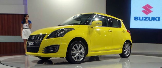 Suzuki Swift Sport di IIMS 2013