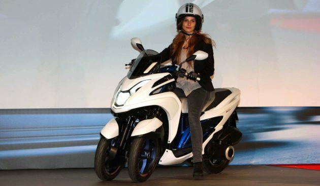 Yamaha Tricity 2014 di EICMA