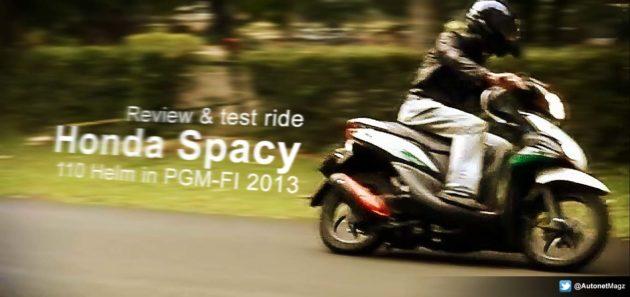 review komplit Honda Spacy injeksi