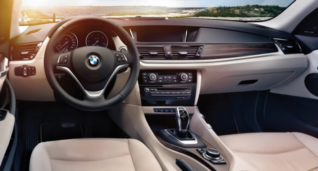 BMW X1 dashboard 2014