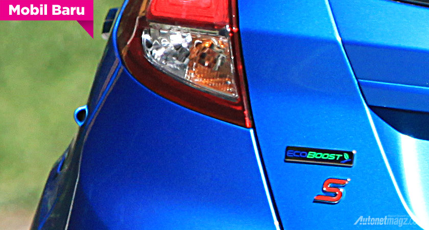 Ford, Emblem Ford Fiesta EcoBoost 1.0L 3 silinder: Ford Fiesta EcoBoost Awal 2014 Akan Meluncur di Indonesia