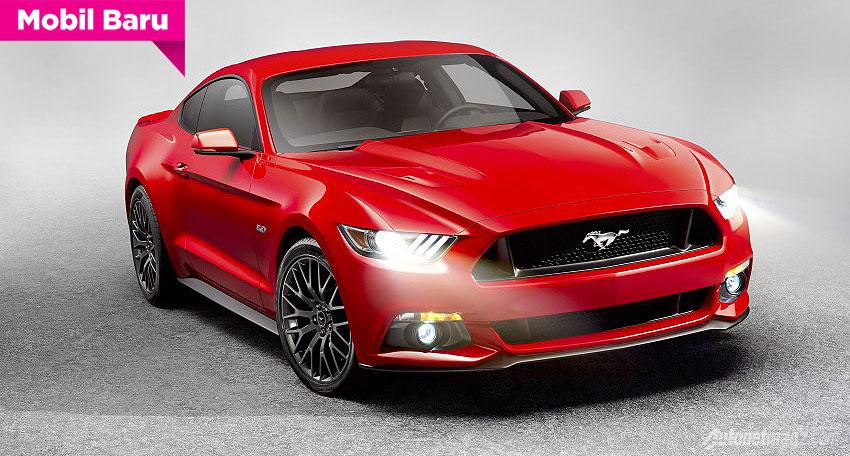 Ford Mustang GT tahun 2015
