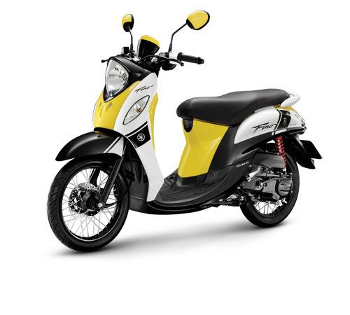 Motor Baru, Yamaha Skuter Klasik: Gambar Yamaha Fino Injeksi Versi Indonesia Bocor Juga Ternyata