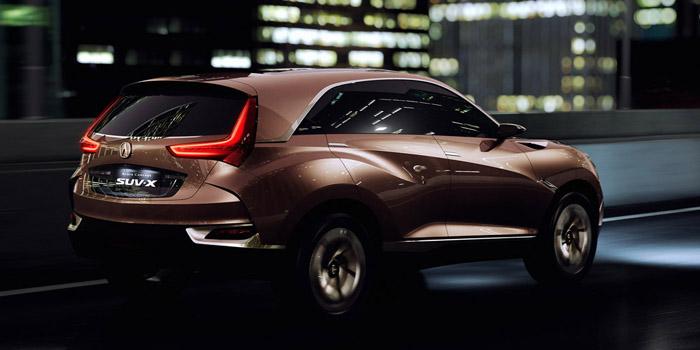 Acura, Acura SUV-X rear: Acura Akan Buat Honda Vezel Versi Premium