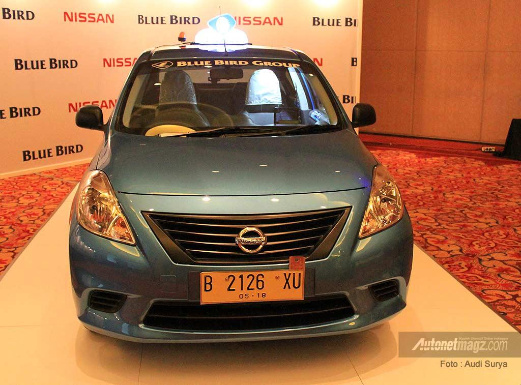 Armada baru taksi Blue Bird Nissan Almera