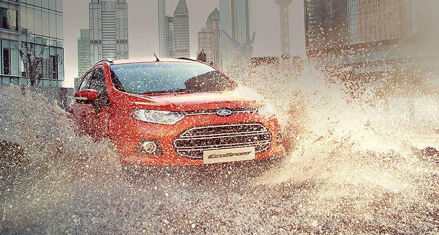 Ford, Ford EcoSport dapat menerjang banjir sampai setengah meter: Ford EcoSport Indonesia Memulai Debut Dengan Kontes Urban Discoveries!