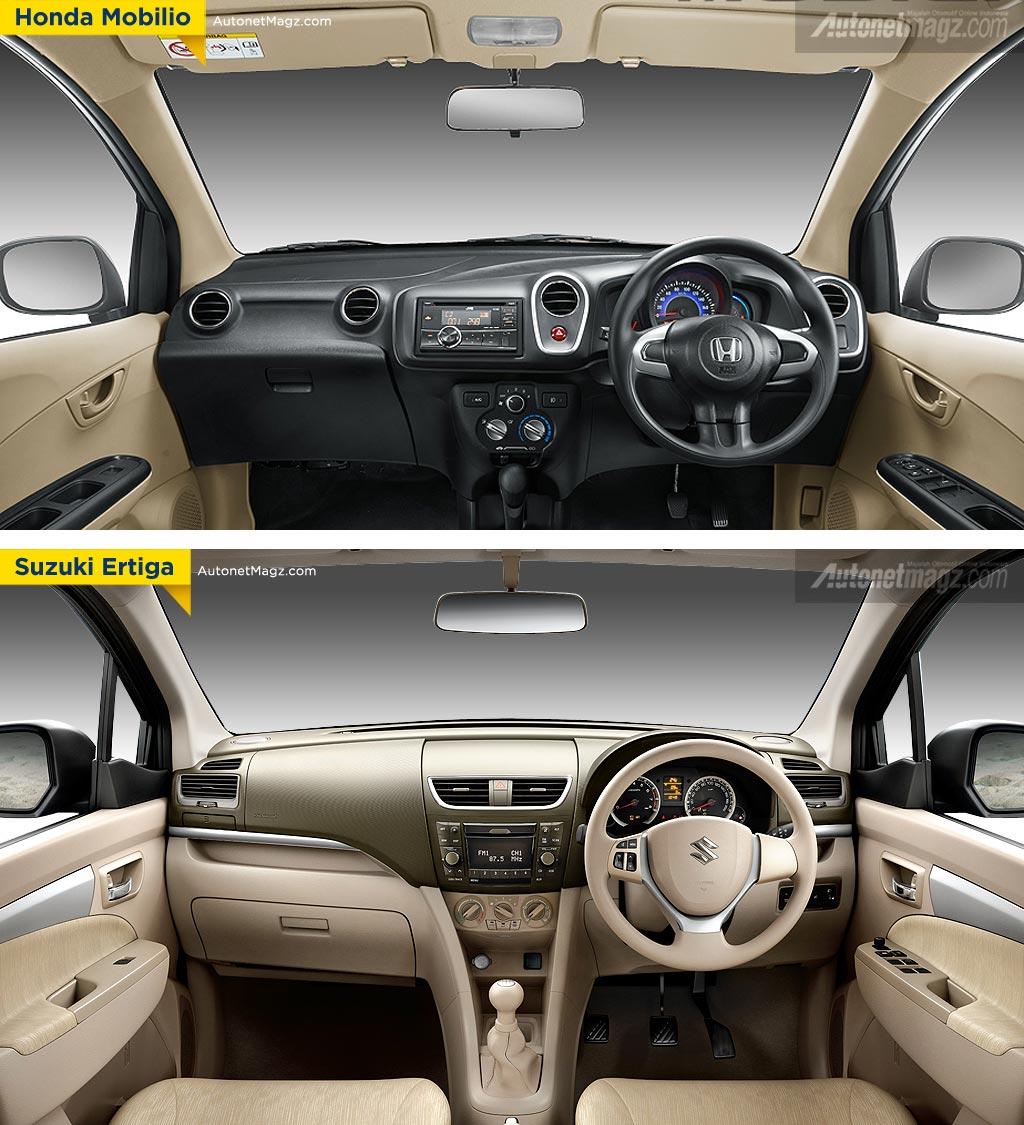 Honda Mobilio VS Toyota Avanza VS Suzuki Ertiga