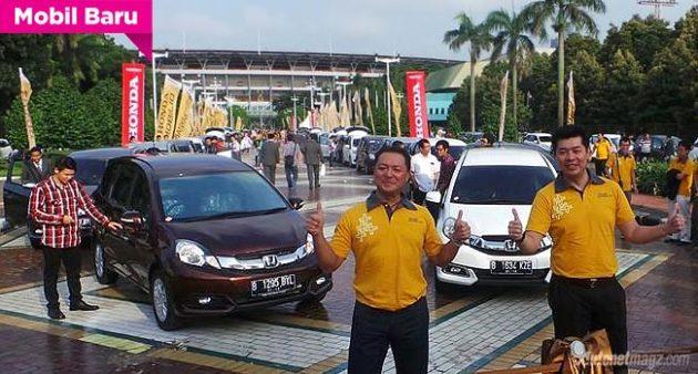 Launching Honda Mobilio Indonesia
