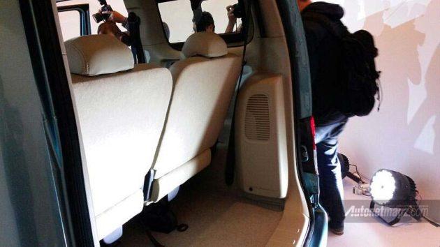New Nissan Evalia Bagasi Belakang