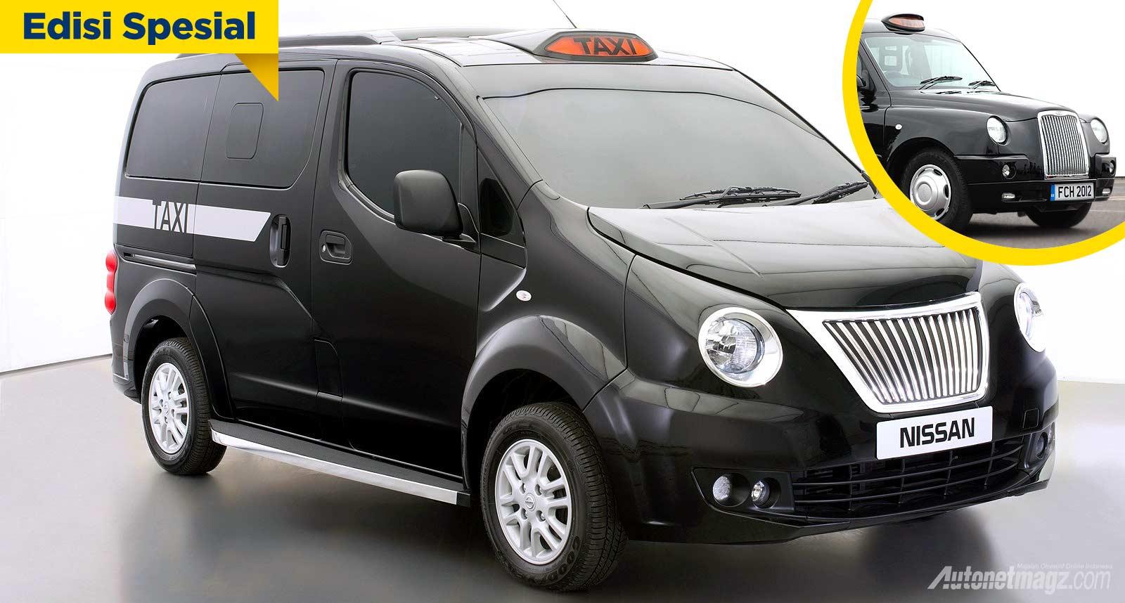Nissan Evalia taksi London