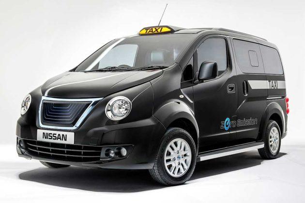 Nissan Evalia taksi London versi mesin motor Listrik