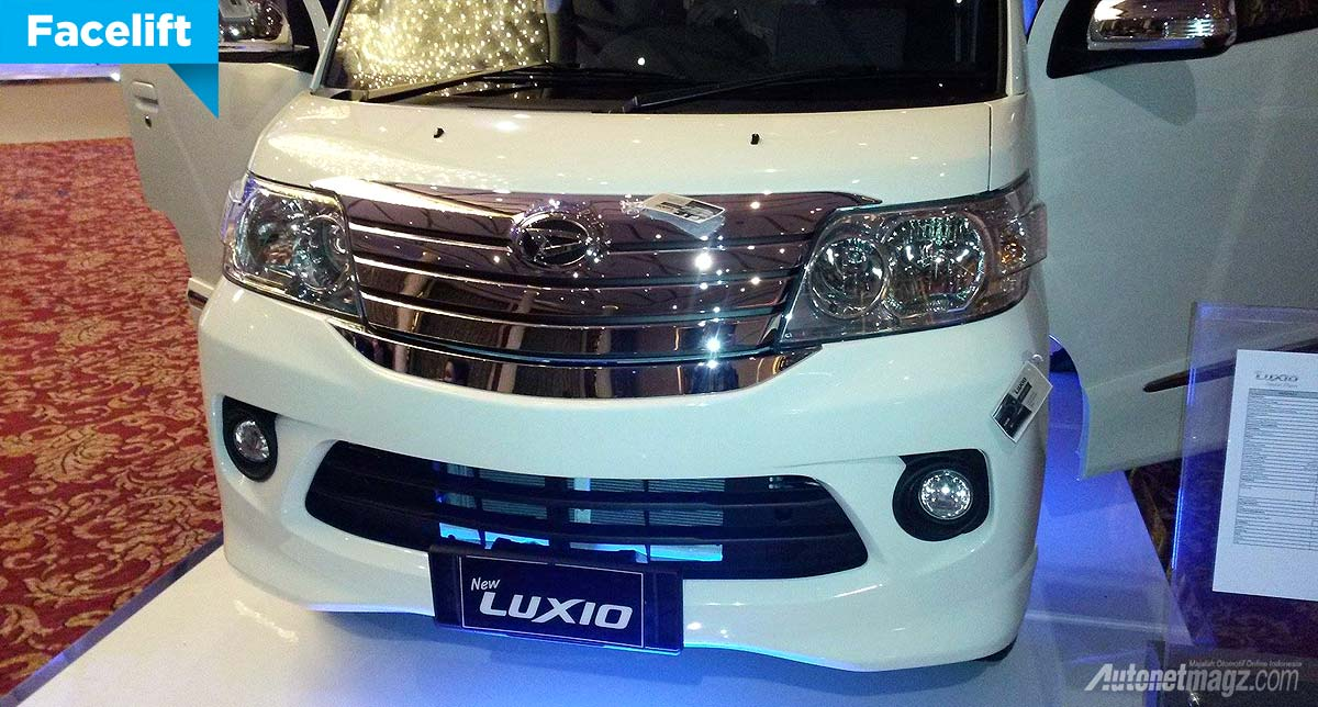 Daihatsu New Luxio Facelift Harga Dibanderol Mulai 157 Juta Rupiah