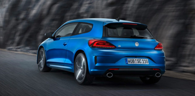 2014 VW Scirocco Facelift back