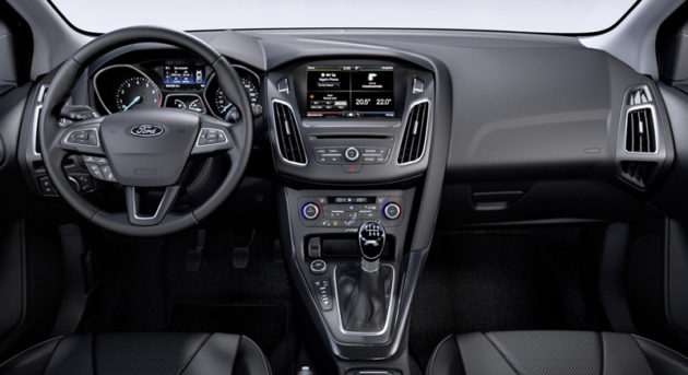 2015 Ford Focus Facelift Dashboard