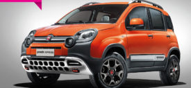 Fiat Panda Cross 4×4 rear