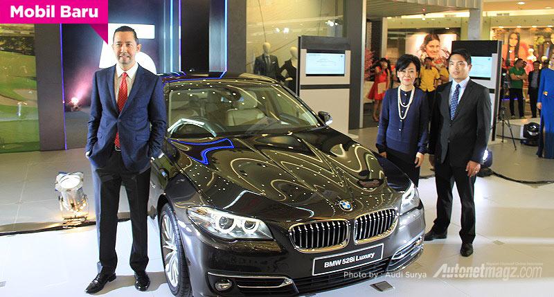 BMW, BMW seri 5 tahun 2014: BMW Seri 5 Facelift Diluncurkan di Indonesia