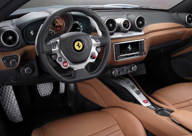 Interior Ferrari California T 2015