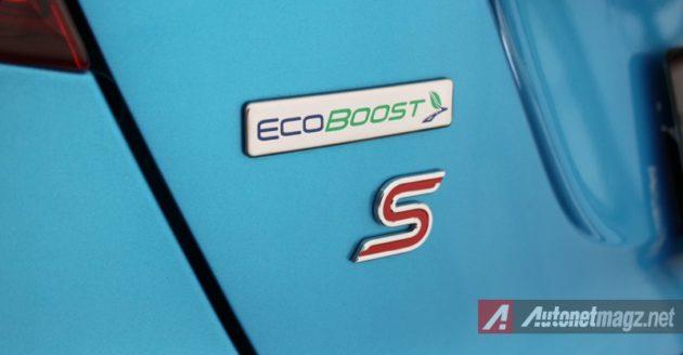 Ford Fiesta Ecoboost emblem