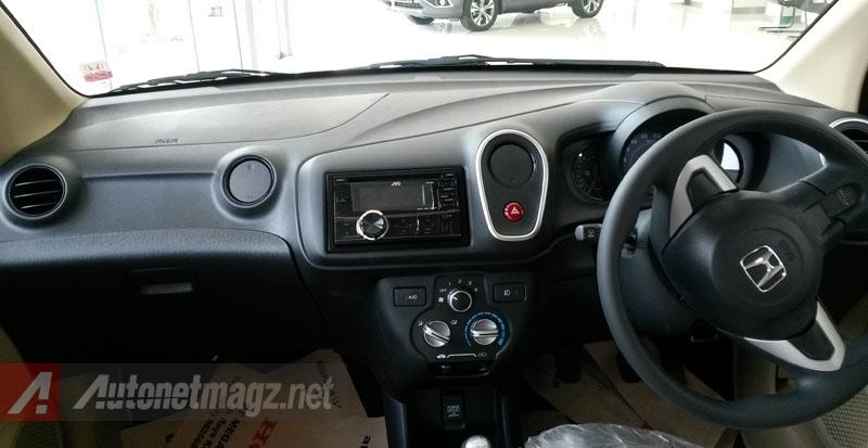 Honda, Honda Mobilio Dashboard: First Impression Review Honda Mobilio E Manual + Gallery Photo