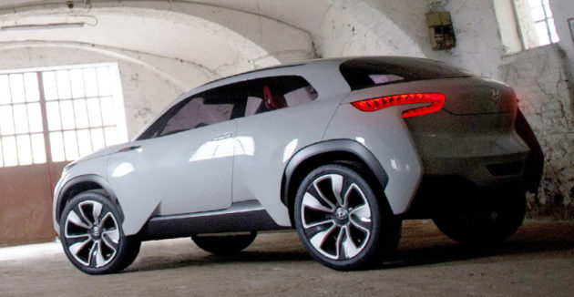 Hyundai Intrado Concept Rear