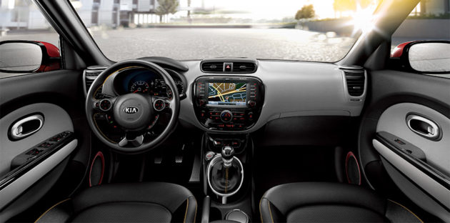 Interior All-New KIA Soul