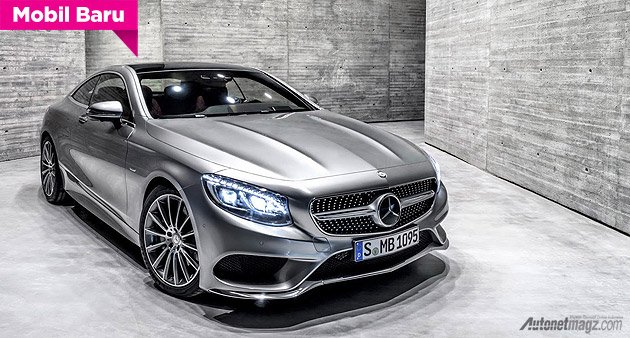 Mercedes-Benz S Coupe sport 2014