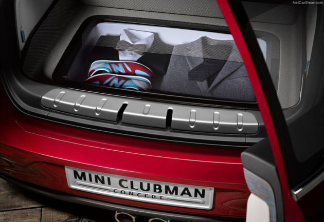 Mini Clubman Concept storage