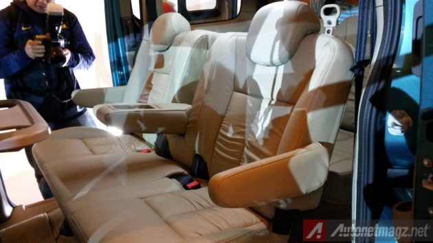 Nissan Evalia Facelift New Seat