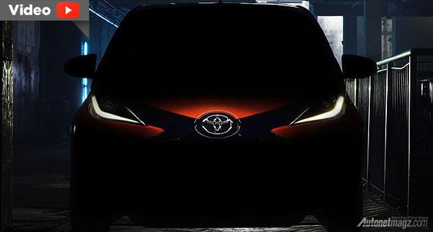 Toyota Aygo 2014 teaser