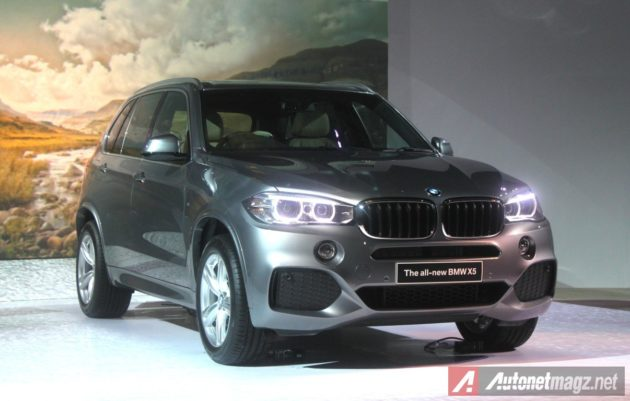 2014 BMW X5 Indonesia looks